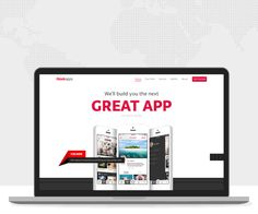 """Case study of a website we created for San Francisco based ThinkApps.About ThinkApps:""""ThinkApps is an on-demand service for building stunning web, mobile and wearable apps. With a network of 1000+ top designers and technologists, the team is always ava…"""