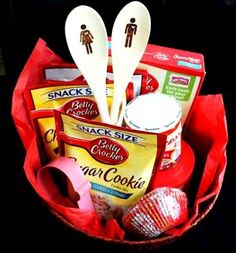 Or their pantry:   14 Easy And Inexpensive Wedding Gift Ideas