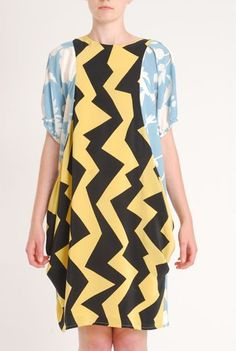 Eley Kishimoto - Not sure about the style of dress but amazing colours