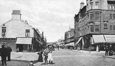 Tour Scotland Photographs: Old Photograph Portland Street Troon Scotland