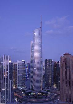 Almas Tower is a supertall skyscraper in JLT Free Zone Dubai, United Arab Emirates.
