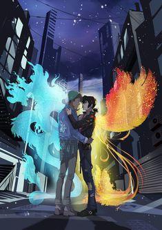 Klance Voltron phoenix and dragon urban Voltron Klance, Voltron Comics, Voltron Fanart, Form Voltron, Voltron Ships, Paladin, Klance Fanart, Klance Comics, Space Cat
