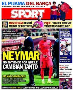 Portada Sport 13/04/2015