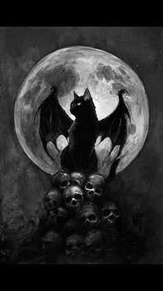 Halloween Bat Cat, Vampire Cat