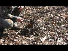 How To Build a Self Feeding Fire the Right Way - theILoveCampingSite.com