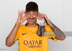 In this handout photos provided by Madame Tussauds Orlando, in celebration of Neymarâs upcoming 24 birthday, Madame Tussauds Orlando has announced the world-famous Brazilian footballer will receive a new wax figure February 3, 2016 in Orlando, Florida. Neymar will unveil the figure this spring in Barcelona and his wax double will travel to its permanent home in Orlando.