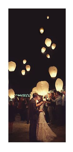Wedding Lanterns / Sky Lanterns..it's a bride's life