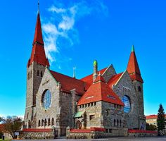 St John's (the cathedral), Tampere, Finland, / Lars sonck Lappland, Art Nouveau, Art Deco, Countries Around The World, Around The Worlds, Finland Country, Grave Monuments, Finland Travel, Cathedral Church
