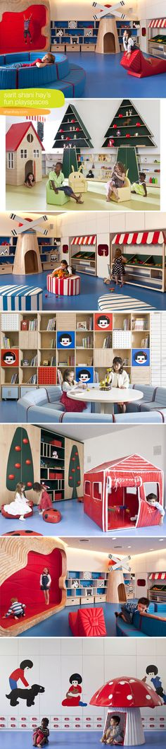 Designed kids play spaces