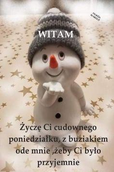 Good Morning Funny, Morning Humor, Blue Flower Wallpaper, Blue Flowers, Crochet Hats, Pictures, Polish, Knitting Hats, Photos