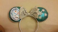 Olaf ears disney silver bow $20 ig made_by_moni
