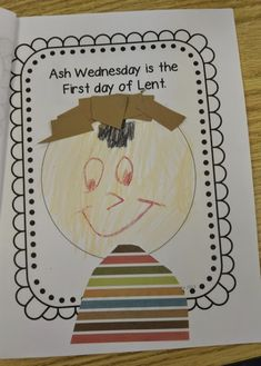 Love Those Kinders!: Lent For Little Kids and an Ash Wednesday Freebie Religion Activities, Teaching Religion, Sunday School Activities, Sunday School Lessons, Easter Activities, Kindergarten Activities, Class Activities, Preschool, Catholic Crafts