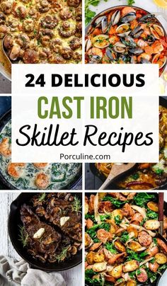 Cast Iron Skillet Cooking, Best Cast Iron Skillet, Iron Skillet Recipes, Chicken Skillet Recipes, Cast Iron Recipes, Chicken Cast Iron Skillet, Skillet Dinners, Iron Diet, Pork And Beef Recipe