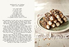 Cannolis... If I can pull off this recipe, then I am truly a Kitchen Goddess