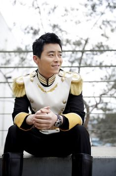 Jo Jung Seok, possibly for Sure or InStyle, but more likely a still from the kdrama King 2 Hearts.  He plays the most earnest soldier ever, and it's really too cute.  Except for when he realizes his dad is a duplicitous, delusional scumbag, which breaks his heart.  And he sings!