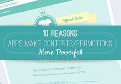 10 Reasons #Facebook #Apps Make #Contests and Promotions More Powerful