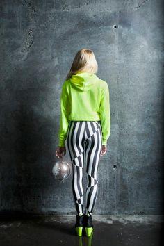 #BEETLEJUICE  #leggings ♥ #stripes
