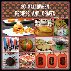 20 #Halloween #Recipes and #Crafts