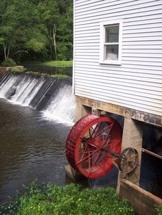 #Atkinson Historic Grist Mill located near Selma, NC, still produces quality cornmeal products today.  Tours available Monday-Friday, 8-5pm.
