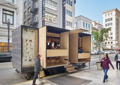 Mobile lingerie shop by SAW and MOA will travel across the US