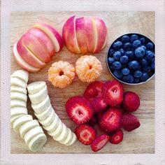 Fruits breakfast!