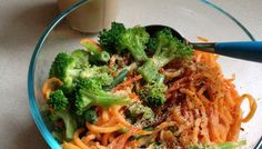 Eat Your Sweet Potato Noodles and Other Veggies