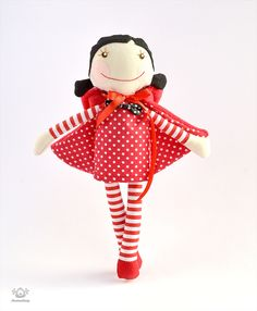 Red & White doll・Created / published on February 7, 2014
