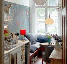 Креативные компактные кухни
