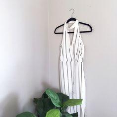 Keepsake Lost Land Maxi Dress Beautiful Keepsake Pinstripe Dress / Never worn and still has original tags! I just never found something to wear it to! Keepsake Dresses