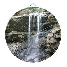 Waterfall Dartboard!  #dartboard #darts #game #family #zazzle #fun #gifts #store  http://www.zazzle.com/dww25921*  I don't know how my store decided when something is popular but this dart board came up so I decided to post it.  Please visit my store and click on stuff.