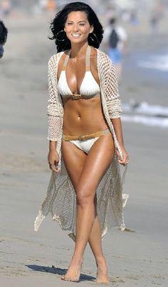 Olivia Munn Bikini Photoshoot for Shape Magazine Olivia Munn Body, Bikini Swimwear, Sexy Bikini, Pernas Sexy, Shape Magazine, Best Swimsuits, Bikini Pictures, Sensual, Summer Looks