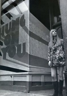 Hung On You boutique, Chelsea, London, 1960s. S)