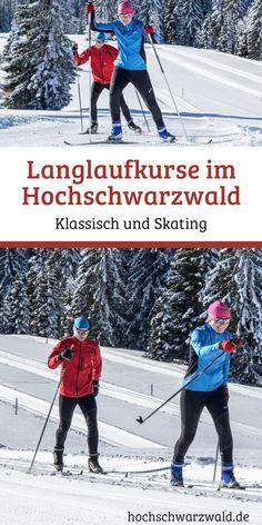 Skilanglauf lernen leicht gemacht - Für alle Einsteiger haben wir Skilanglauf Gruppenkurse, Einzelstunden und Privatkurse im Hochschwarzwald anzubieten. Lass dich fachgerecht von Trainern anleiten, damit du diesen faszinierenden Sport von Anfang an richtig genießen kannst! Trainer, Tricks, Sports, Cross Country Skiing, Snow Boots, Ice Skating, Winter Vacations, Hs Sports, Sport