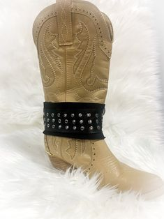Cowgirl Boot Band-Bridal Boot Bands-Boot Accessory-Boot | Etsy