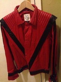 Vintage 100 Leather Original Thriller J Park Michael Jackson Jacket | eBay
