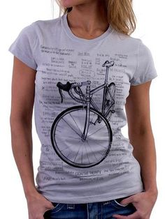 Cycology dames t-shirt: Cognitive Therapy (grijs) - CyclingLifestyle. Mtb Shoes, Cognitive Therapy, T Shirts, Tees, Mountain Bike Shoes, Road Bike Women, Bicycle Maintenance, Cool Bike Accessories, Cool Bikes