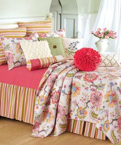 Look what I found on #zulily! Multicolor Light Floral Quilt #zulilyfinds