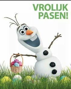 Olaf from Disney's Frozen - Happy Easter! Disney Olaf, Frozen Disney, Frozen Movie, Olaf Frozen, Disney Magic, Disney Pixar, Walt Disney, Frozen 2013, Disney Princes