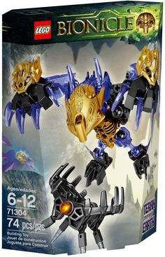 LEGO Bionicle Terak Creature of Earth Activate the digging claw function to swipe at the shadow trap! Ensure the ancient creature remains free, to await the arrival of the heroic Toa. Unite with 71309 Onua Uniter of Earth for more earthly powers. Building For Kids, Building Toys, Legos, Lego Bionicle Sets, Construction Toys For Boys, Power Rangers Dino, Hero Factory, Cool Lego Creations, Cursed Child Book