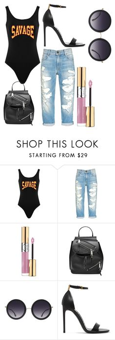 """Untitled #30"" by nanasalace ❤ liked on Polyvore featuring Alice + Olivia, Yves Saint Laurent, Marc Jacobs and Tom Ford"