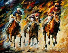 Instant of Success Wall Art - Metal Art Studio Horse Oil Painting, Oil Painting Abstract, Painting Prints, Painting Art, Art Prints, Painted Horses, Cheap Paintings, Paintings For Sale, Oil Paintings