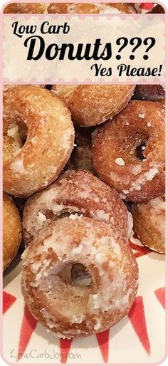 Low Carb Donuts - TIPS to quick flash fry after baking!! Use for other donut recipes, too