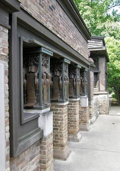 Фрэнк Ллойд Райт (Frank Lloyd Wright): Frank Lloyd Wright Home and Studio, Oak Park, Illinois (Собственный дом Фрэнка Ллойда Райта, Оак-Парк, Иллинойс), 1889—1909