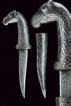A miniature kard  provenance:Indopersia dating: circa 1900