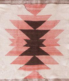 "Katrina's Pick: #21452 antique American Navajo 2'0"" x 2'0"" circa 1920 http://www.rahmanan.com/inventory/show/21452/"