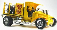 rat rod trucks and cars Custom Rat Rods, Custom Hot Wheels, Custom Cars, Weird Cars, Cool Cars, Model Truck Kits, Model Kits, Model Cars Building, Monogram Models