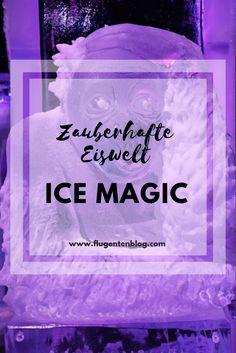 Ice Magic - die magische Eiswelt mitten im Stadtzentrum von Linz. Komm auch du nach Linz und bestaune noch bis 6.1.2019 die wunderbaren Eisskulpturen!