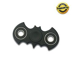 SUPER HIGH SPEED BATMAN BATARANG SPINNER - THERAPY AND RELIEF FOR FIDGETERS.   SPIN Away Boredom Stress & Anxiety - Use for Focus & Fun!   ➣ Super Fast Speed Spinner   ➣ High Quality ABS plastic