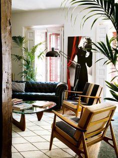 apartment like from a movie / дом-артист-винтидж (8)