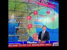 Florida's news anchors been drinking during the hurricane too